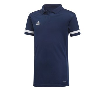 Adidas T19 Polo Youth Girls Navy