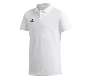 Adidas T19 Polo Youth Girls Wit
