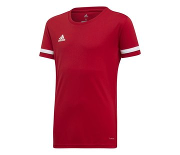 Adidas T19 Tee Jersey Youth Girls Red