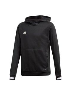 Adidas T19 Hoody Youth Zwart