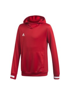 Adidas T19 Hoody Youth Rot