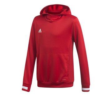 Adidas T19 Hoody Youth Rood