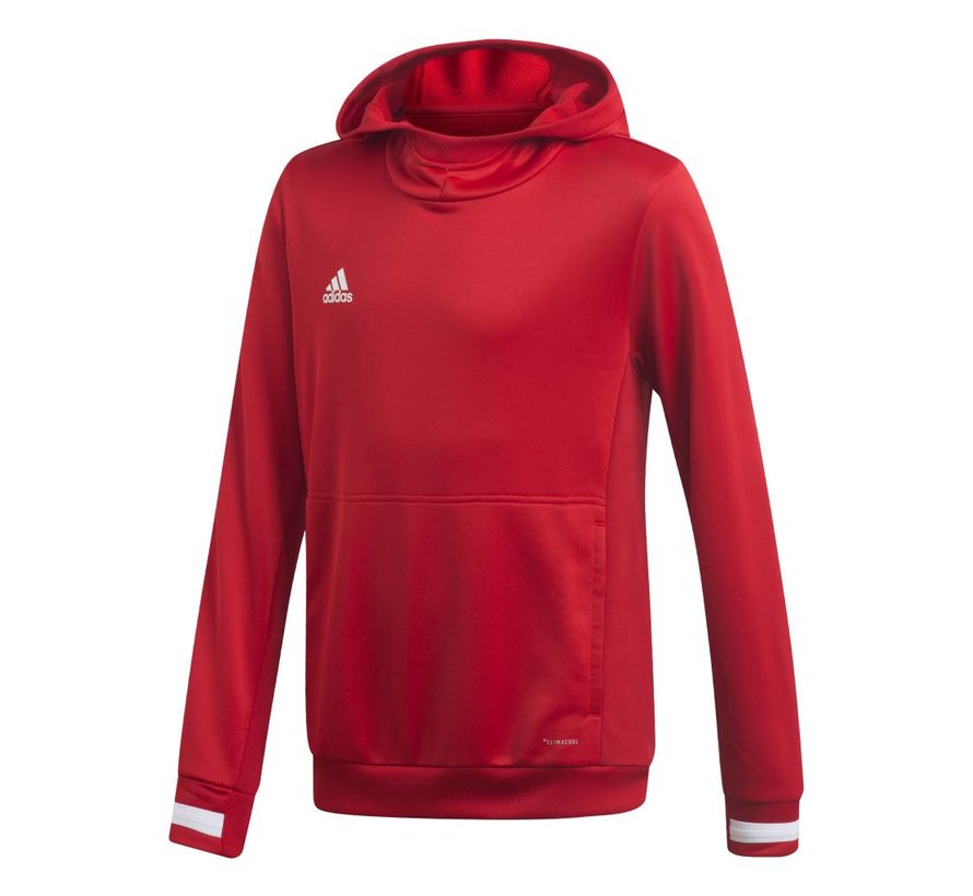 T19 Hoody Youth Rood