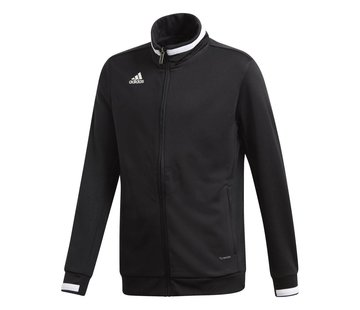 Adidas T19 Track Jacket Youth Zwart
