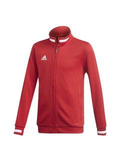 Adidas T19 Track Jacket Youth Rot