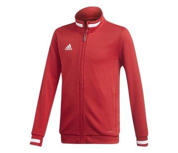 Adidas T19 Track Jacket Youth Rood