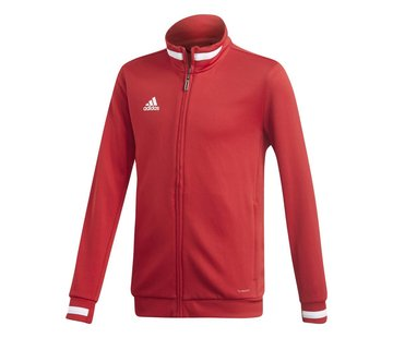 Adidas T19 Track Jacket Youth Rot