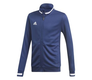 Adidas T19 Track Jacket Youth Navy