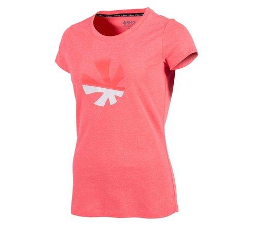 Reece Classic T-Shirt Damen Diva Pink