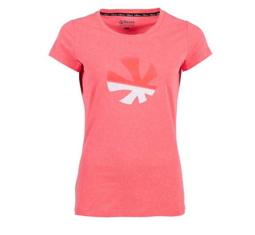 Classic T-Shirt Damen Diva Pink
