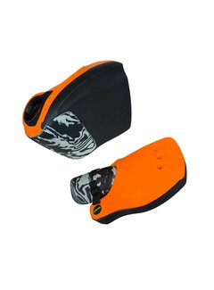 Obo Robo Hi-Rebound Handprotector Orange/Black Set