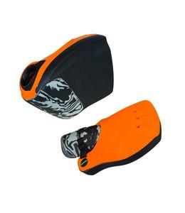 Obo Robo Hi-Rebound Handprotector Oranje/Zwart Set