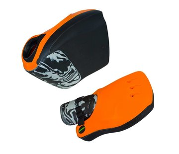 Obo ROBO Hi-Rebound Handprotector Orange/Schwarz Set