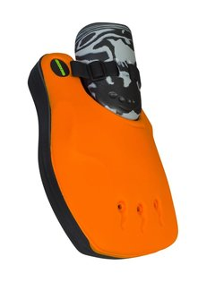 Obo ROBO Hi-Rebound Handprotector Oranje/Zwart Links