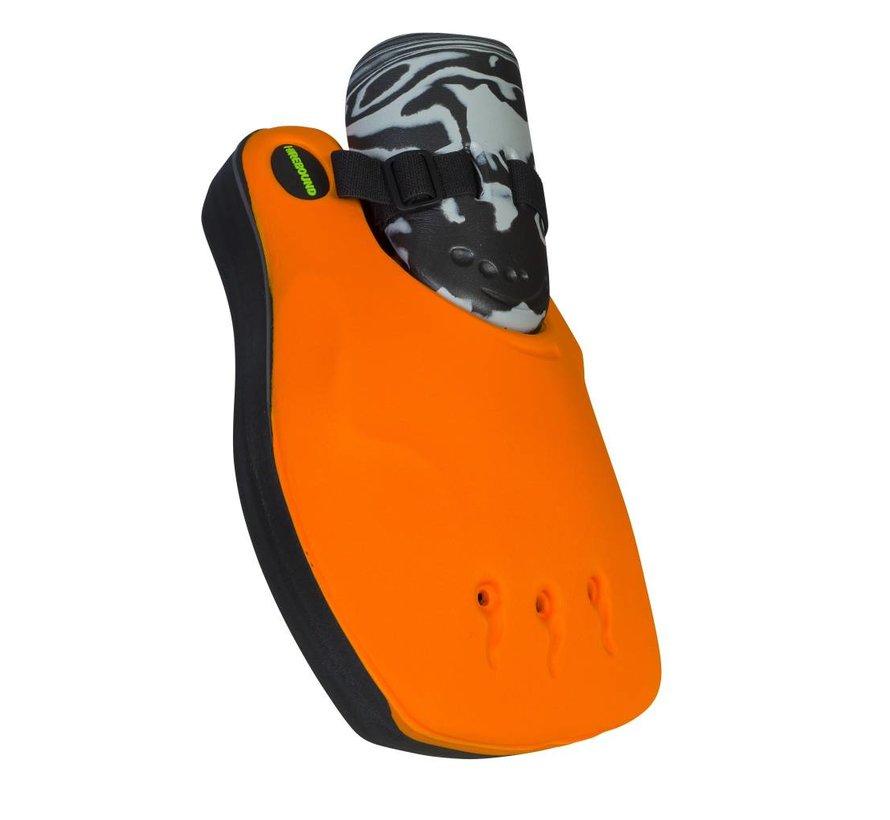 ROBO Hi-Rebound Handprotector Oranje/Zwart Links