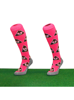 Hingly Love Poop Hockeysocks