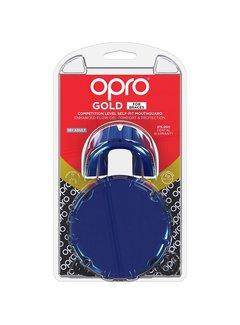 Opro Gold Zahnspange Senior Blau