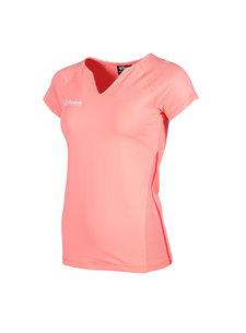 Reece Varsity Shirt Ladies Coral