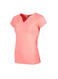 Reece Varsity Shirt Ladies Coral