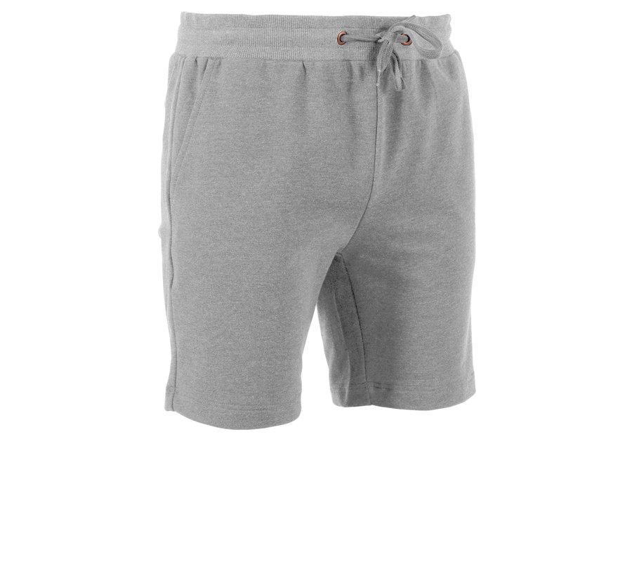Classic Sweat Short Mens Grijs Melee