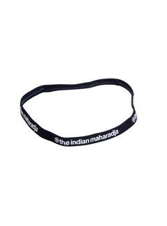 Indian Maharadja Haarband Schwarz