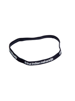 Indian Maharadja Hairband Black