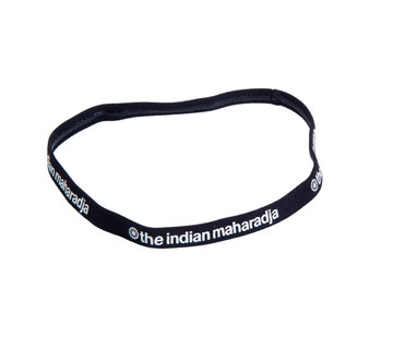 Indian Maharadja Haarband Schwarz