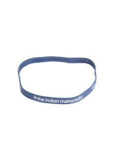 Indian Maharadja Haarband Blau Grau