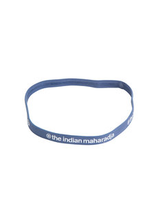 Indian Maharadja Hairband Blue Grey
