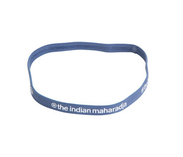 Indian Maharadja Haarband Blau Grau
