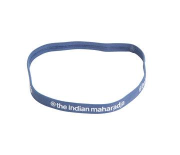 Indian Maharadja Haarband Blauwgrijs