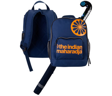 Indian Maharadja Kinder Rucksack Navy/Orange