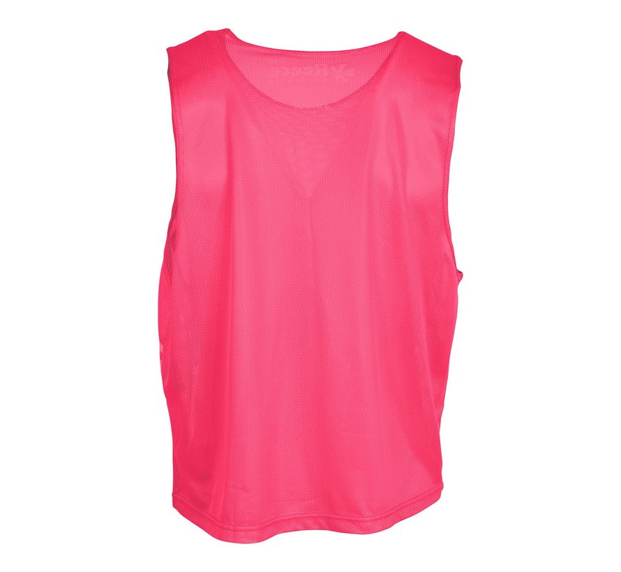 Lakeland Mesh Bib Pink/White
