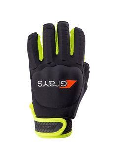 Grays TOUCH PRO Handschuh Links Schwarz/Neon Gelb