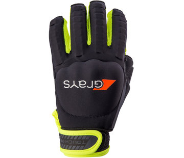 Grays TOUCH PRO Handschuh Links Schwarz/Neon Gelb