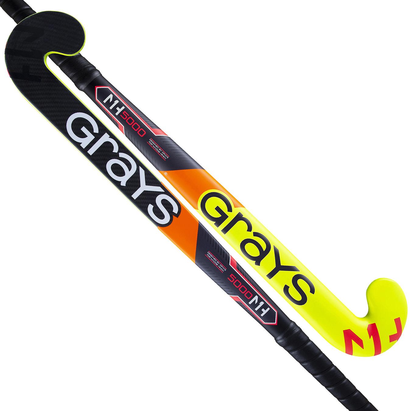 Grays MH1 UB GK5000 Neon Yellow/Black goaliestick, order now!