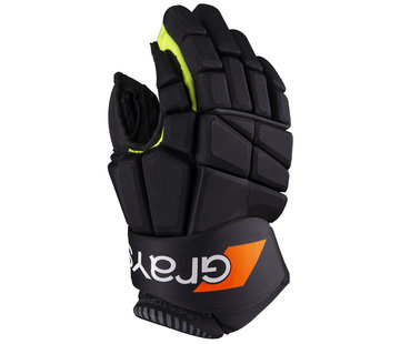 Grays GLOVE LINESTOPPER LEFT BLACK/NEON YELLOW