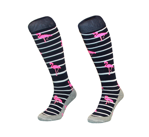 Hingly Stripe Flamingo Navy