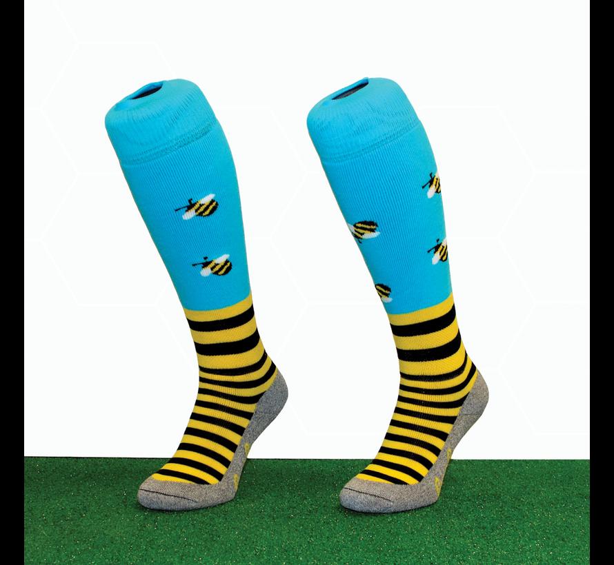 Hockeysok  Bee Blue