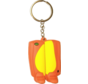 Keyring Gelb/Orange