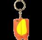 Keyring Yellow/Orange