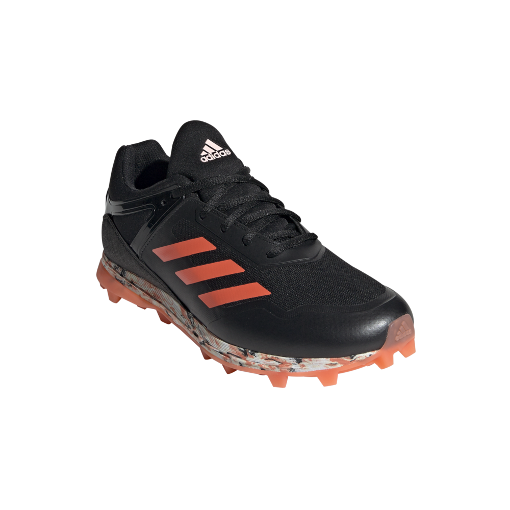 Adidas Fabela Zone BlackCoral hockeyshoes, order now!