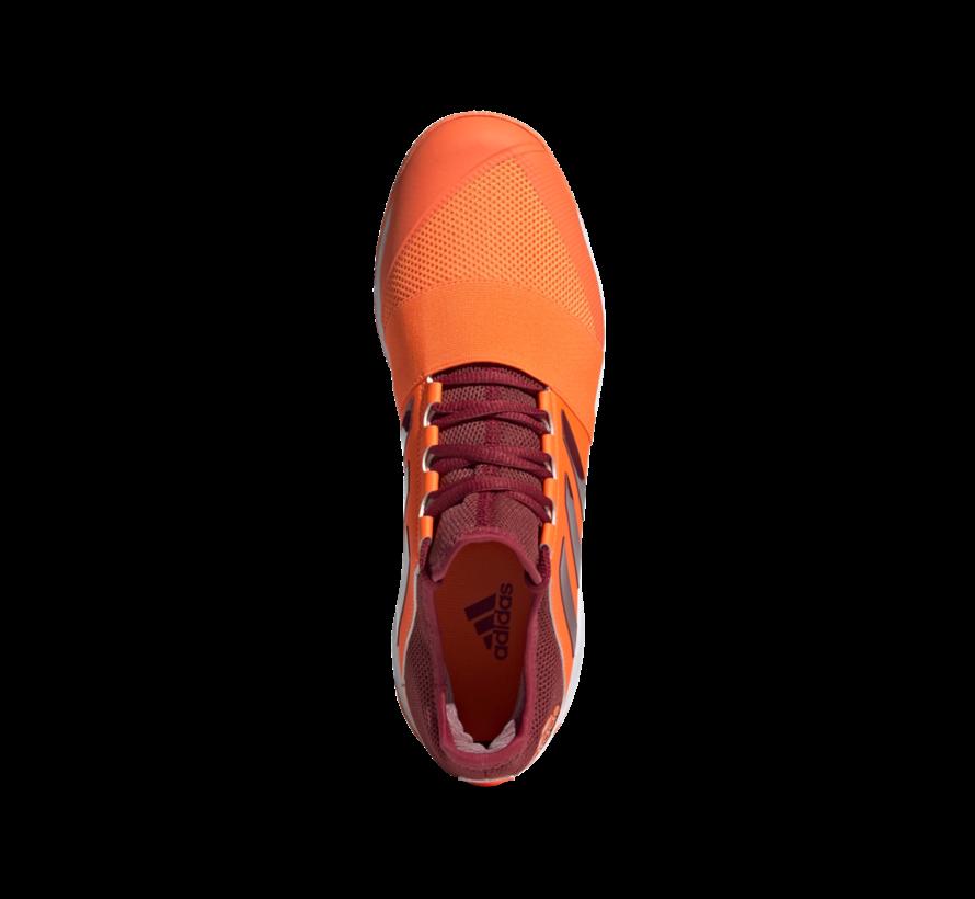 Hockeyschuhe Divox 1.9S Orange/Maroon