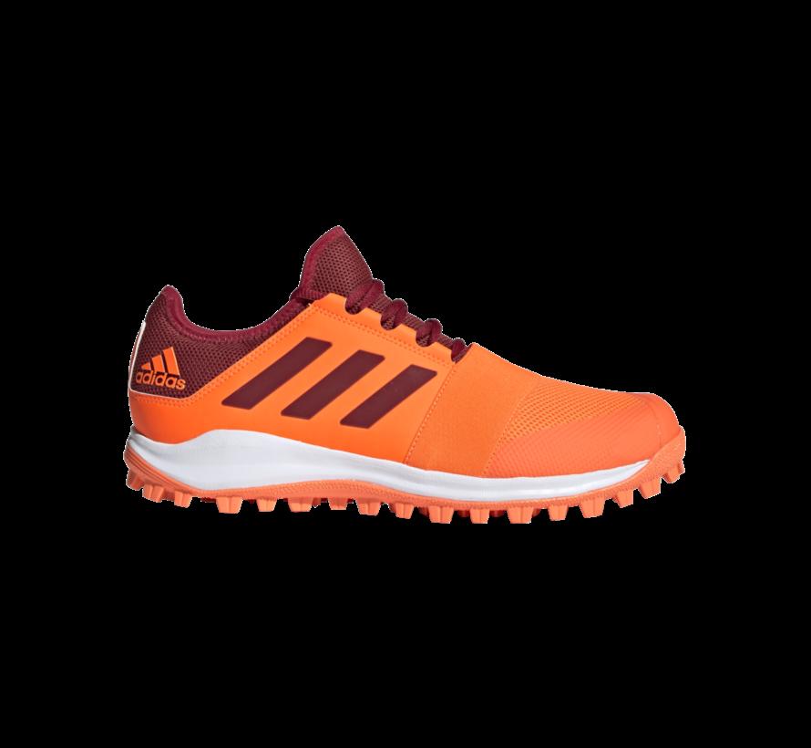 Hockeyschoenen Divox 1.9S Oranje/Maroon