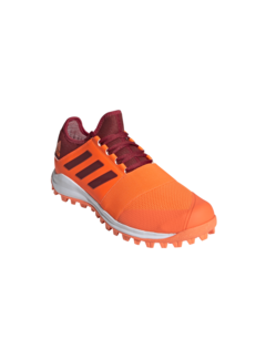 Adidas Hockeyschoenen Divox 1.9S Oranje/Maroon