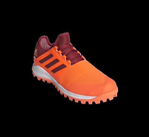 Adidas Hockeyschuhe Divox 1.9S Orange/Maroon