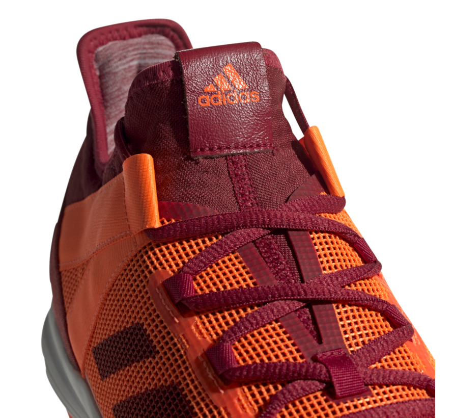 Hockeyshoes Zone Dox Orange/Maroon