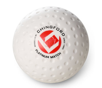 Brabo Chingford Platinum Match Dimple hockeyball Weiß