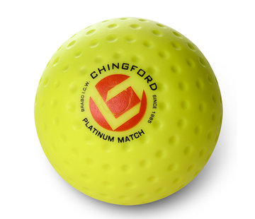 Brabo Chingford Platinum Match Dimple hockeyball Gelb