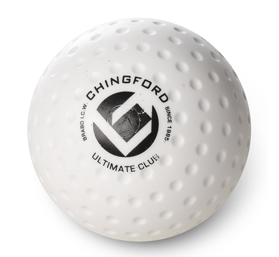 Chingford Club Dimple hockeyball Weiß
